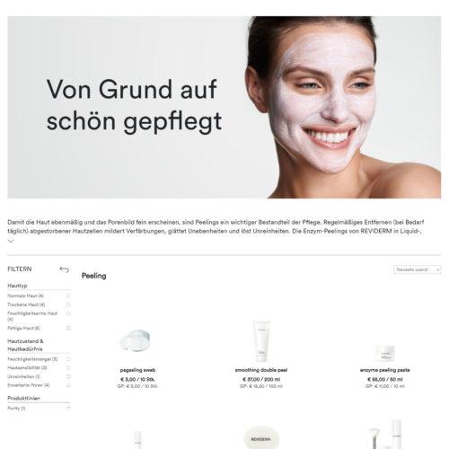 REVIDERM Online-Shop von Wunderwerk Schwerin